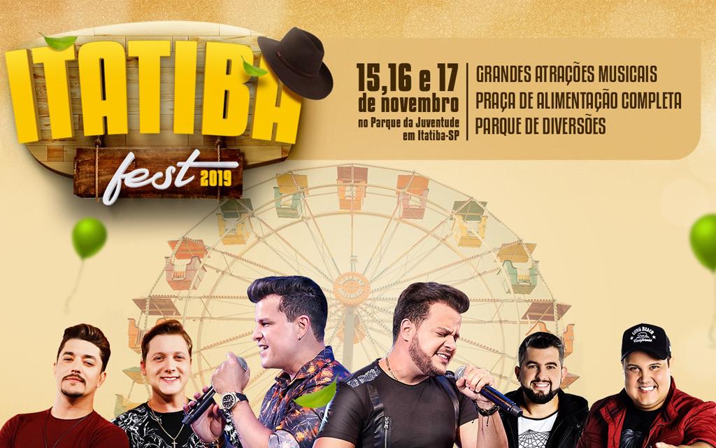 Itatiba Fest 2019 recebe grandes nomes do sertanejo