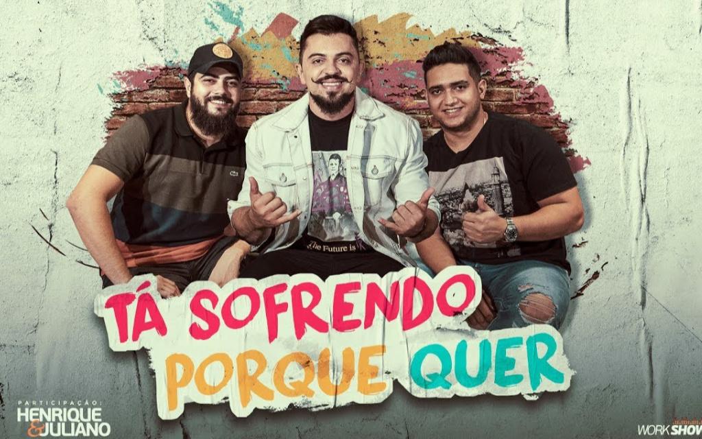 """Henrique Casttro bate 1 milhão de streams com """"Ta Sofrendo Porque Quer"""""""