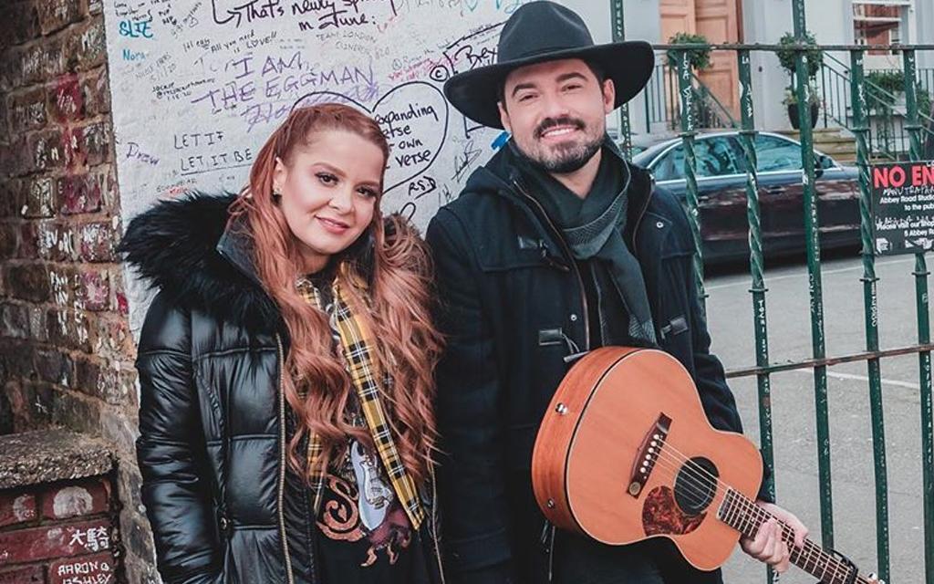 Maiara e Fernando Zor se emocionam durante live de Mayck & Lyan