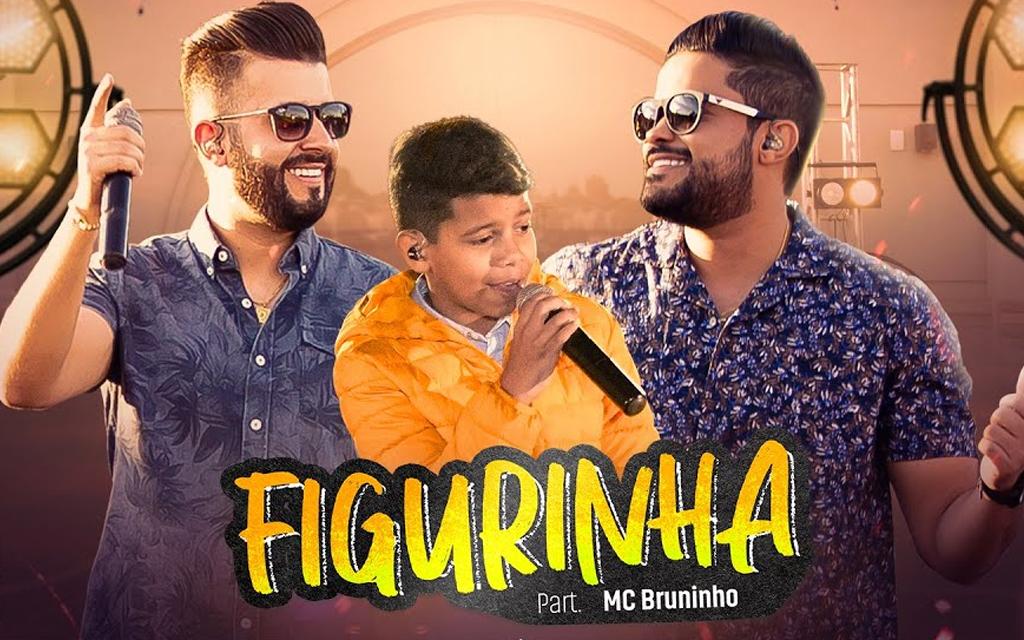 """""""Figurinha"""", de Douglas & Vinicius, alcança a marca de 100 milhões de streamings"""