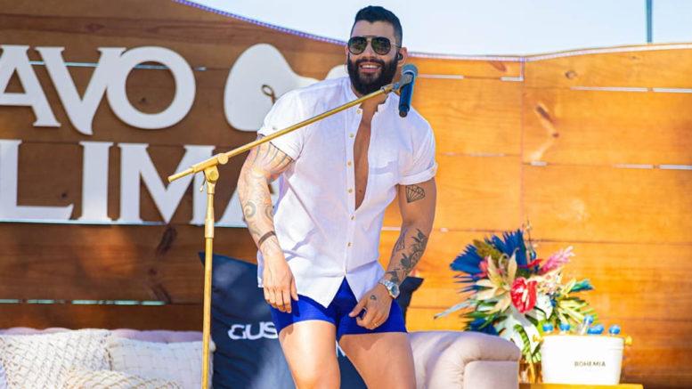 Gusttavo Lima vira meme nas redes sociais após aparecer com shorts ...