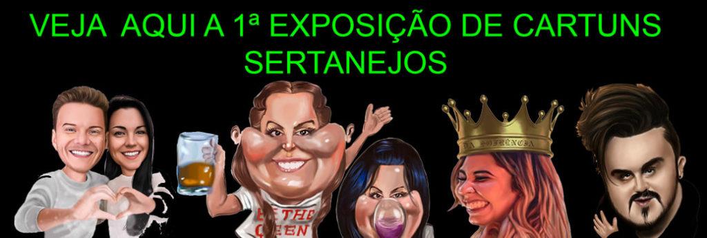 Exposição Cartuns Sertanejos