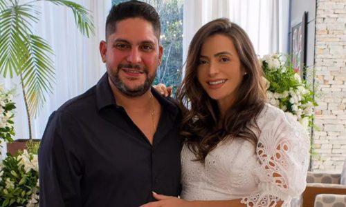 Jorge, dupla de Mateus, se casa em cerimônia íntima em Goiânia