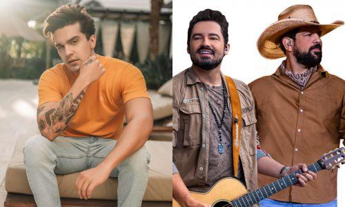 """""""Viva"""": Luan Santana e Fernando & Sorocaba farão live beneficente"""
