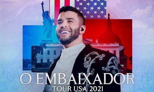 Gusttavo Lima anuncia turnê nos Estados Unidos