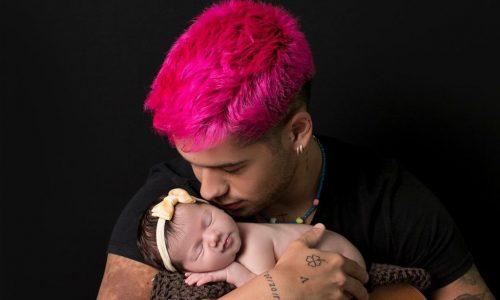 Zé Felipe compartilha fotos ao lado da filha Maria Alice