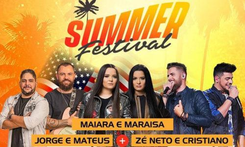 Maiara & Maraisa, Jorge & Mateus e Zé Neto & Cristiano se apresentarão em festival nos Estados Unidos