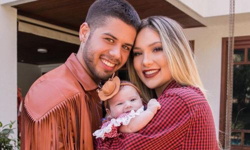Filha de Zé Felipe e Virginia Fonseca completa dois meses