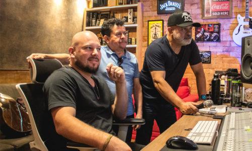 Rionegro & Solimões entram em estúdio para gravação de projeto inédito